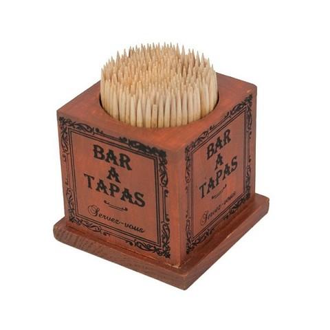 Коробка с зубочистками