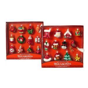 Набор 12 игрушек в красной коробке
