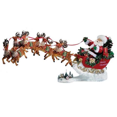 Дед Мороз на оленях, музыкальный