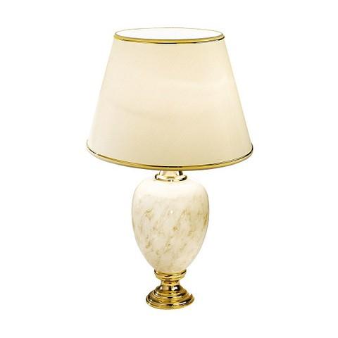 Лампа бежевая