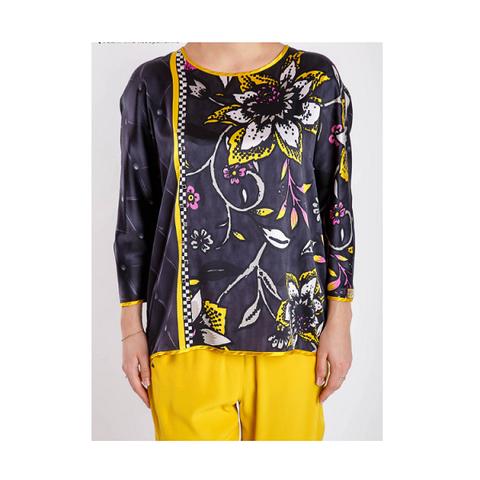 Блуза  цветы [VDP]