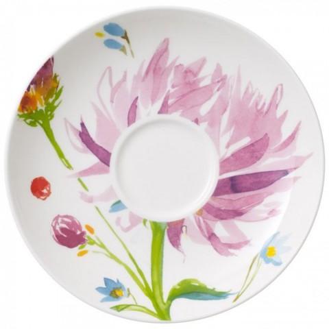 Кофейное блюдце 15см Anmut Flowers,  [Арт. 1044441310]