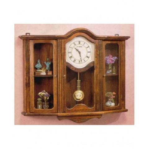 Часы с дверцами