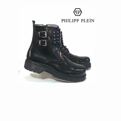 """Ботинки """" Последняя ночь"""" черные [Philipp Plein]"""