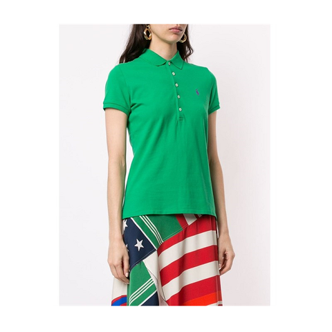Поло зеленое [Polo Ralph Lauren]
