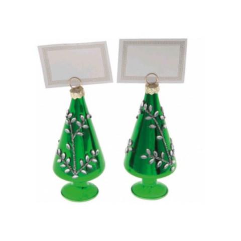 Ёлка зелёная, держатель для открыток