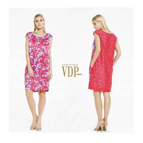 Платье розовое, цветы [VDP]