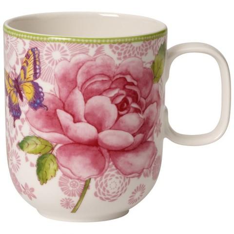 Кружка 0.35л розовая Rose Cottage,  [Арт. 1041419101]