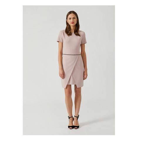 Платье розовое с запахом [Emporio Armani]