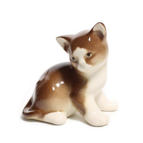 Котёнок Парамоша Коричневый