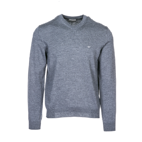 Пуловер серый  р.М