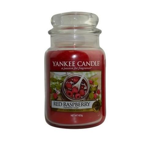Свеча Красная малина, большая