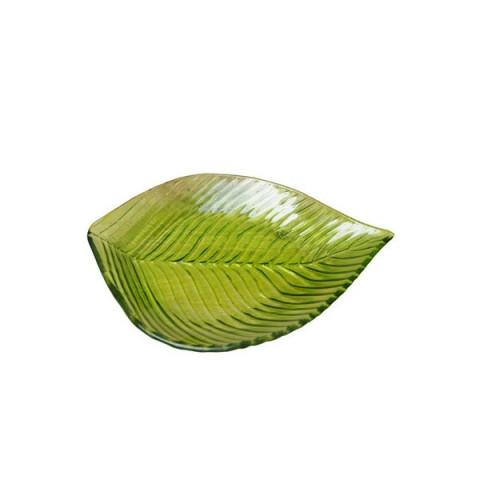 Блюдо Лист зелёный