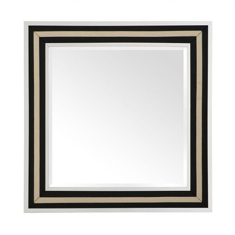 Зеркало чёрно-золотое