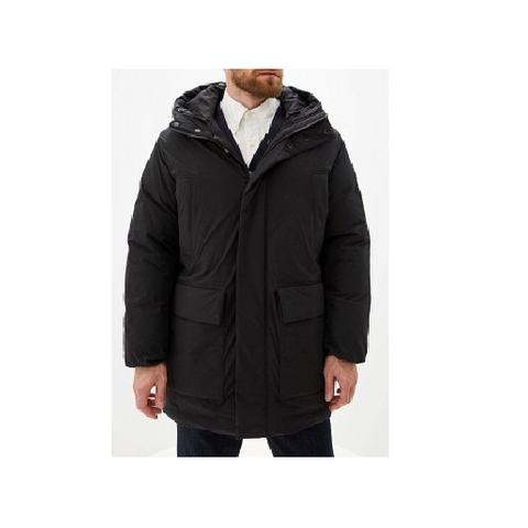Куртка черная с капюшоном  (Armani Jeans)