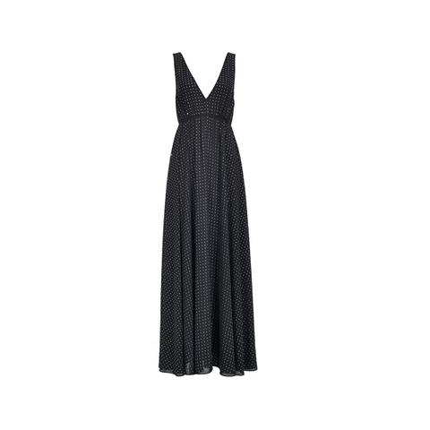 Платье макси стразы р 40