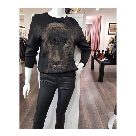 Пуловер пантера [St.John]