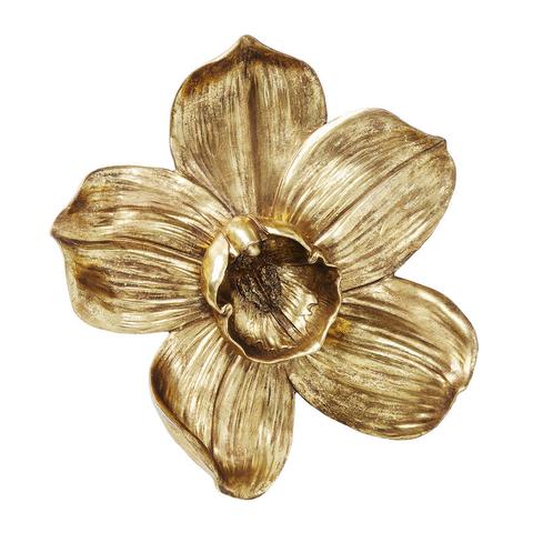 Панно Орхидея золотая 44,3 см
