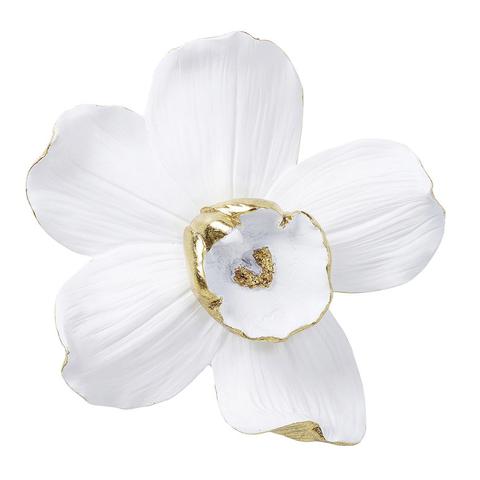 Панно Орхидея белая 25 см