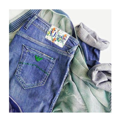 Джинсы синие [Armani Jeans]
