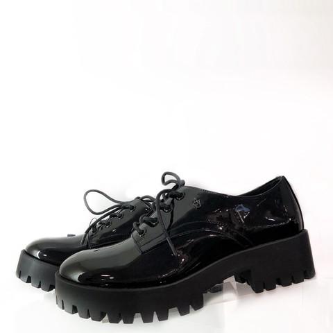 лаковые туфли на шнуровке [Armani Jeans]
