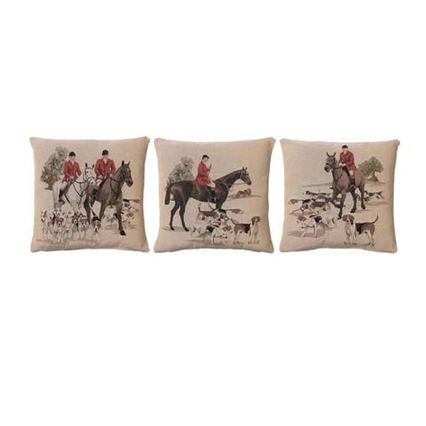 Подушка Прогулка на лошадях