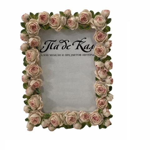 Рамка для фото Розы розовые