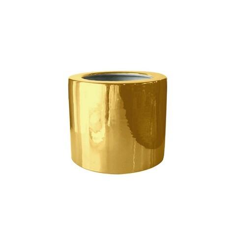 Кашпо золотое