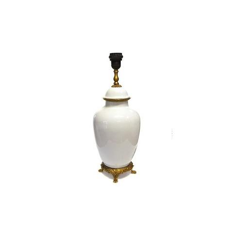 Лампа белая