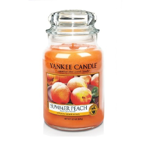Свеча Летний персик, большая