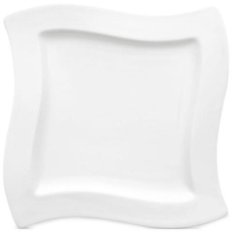 Салатная тарелка 24х24см New Wave фарфор,  [Арт. 1025252647]