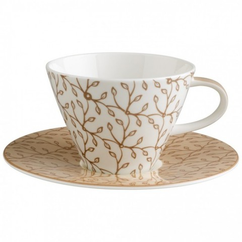 Пара для завтрака Caffe Club Floral caramel,  [Арт. 1035021200]