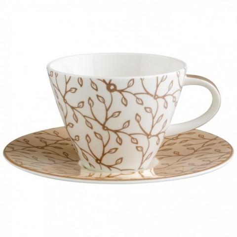 Кофейная пара Caffe Club Floral caramel,  [Арт. 1035021290]
