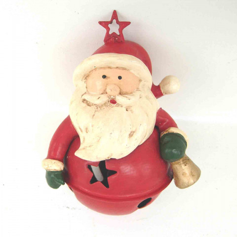 Колокольчик Дед Мороз, ёлочное украшение