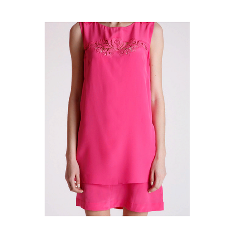 Платье розовое [VDP]