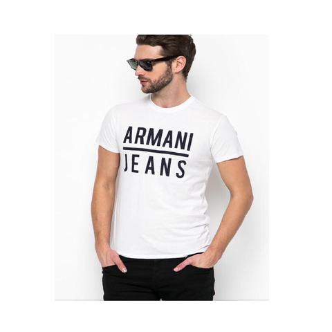 Футболка белая  (Armani Jeans)