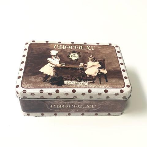 Коробка жестяная Шоколад малая