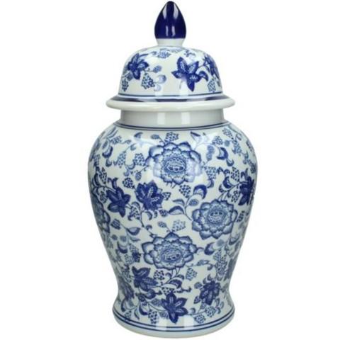 Ваза в китайском стиле керамическая