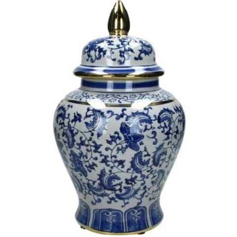 Ваза фарфоровая в китайском стиле