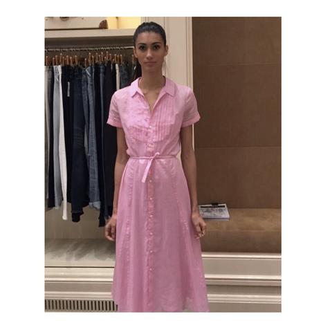 Платье розовое [Polo Ralph Lauren]