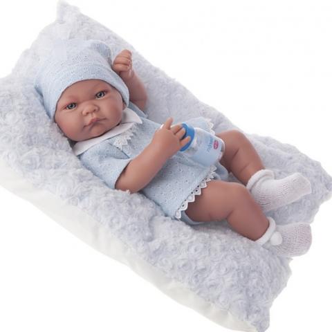 5053B Кукла-младенец Нико (мальчик) в голубом,42см