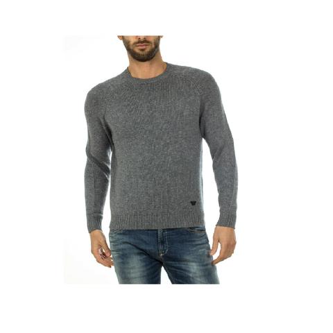 Пуловер меланж  р.XXL