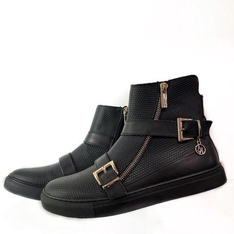 Ботинки черные [Armani Jeans]