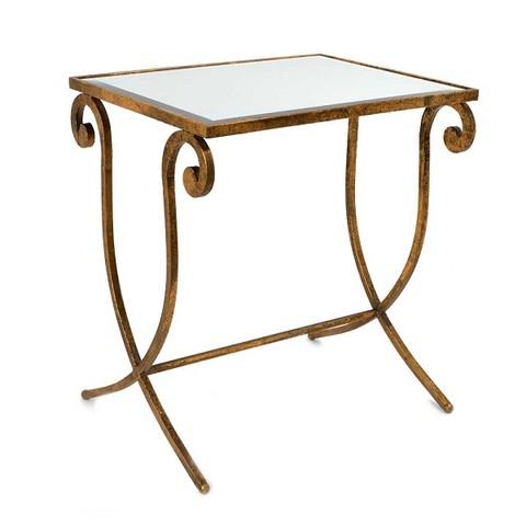 Столик золотой L