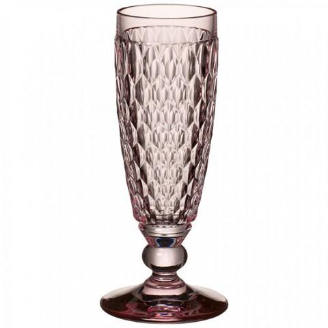 Бокал для шампанского розовый Boston coloured,  [Арт. 1173090074]