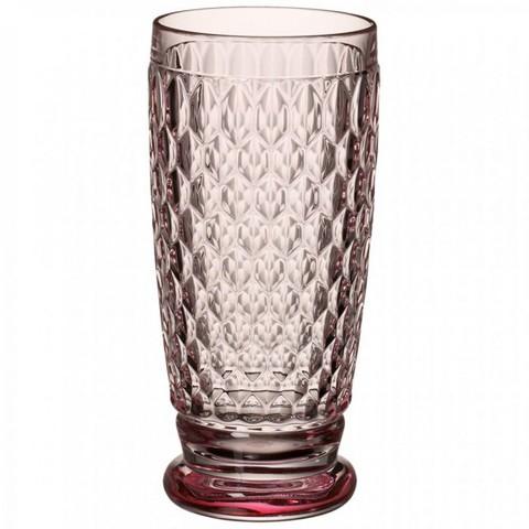 Высокий стакан розовый Boston coloured,  [Арт. 1173090114]